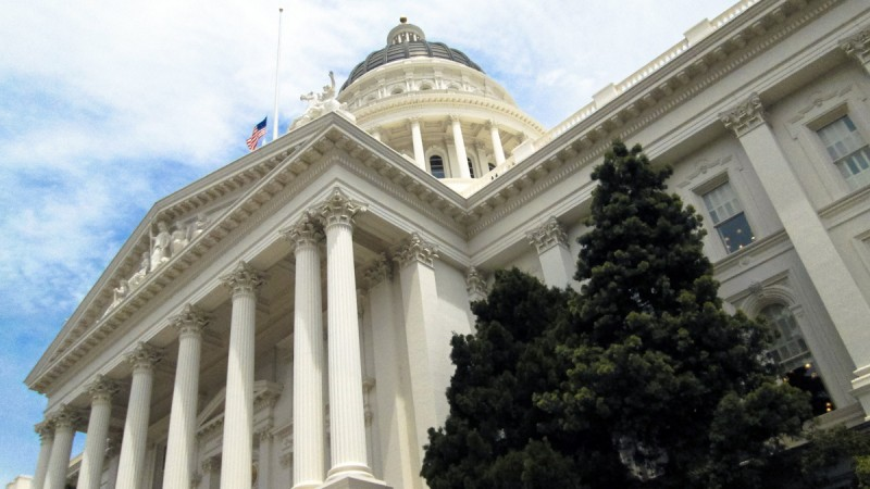 California Capitol photographed by Sallie Goetsch