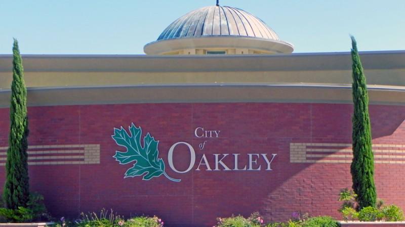 Oakley City Hall. Photo by Sallie Goetsch.